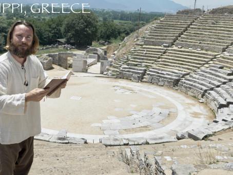 PHILIPPI, GREECE! TEACHER JOSHUA JAMES, PHILIPPIANS
