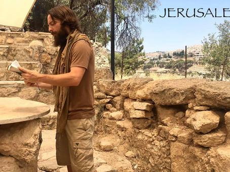 JERUSALEM, ISRAEL, TEACHER JOSHUA JAMES