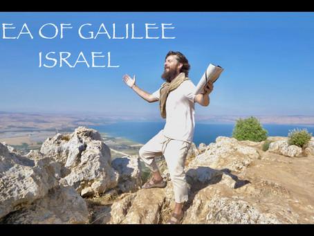 SEA OF GALILEE, ISRAEL, TEACHER JOSHUA JAMES