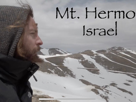 MOUNT HERMON, ISRAEL - BOOK OF ENOCH LOCATION. ARDIS SUMMIT OF MOUNT HERMON, ISRAEL - TEACHER JOSHUA