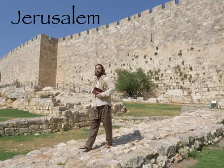 Teacher Joshua James, Jerusalem Israel - Old City Tour