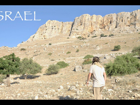 MOUNT ARBEL, ISRAEL. POSSIBLE LOCATION OF MATTHEW 28. TEACHER JOSHUA JAMES