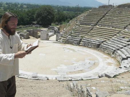 Philippians  Philippi, Teacher Joshua James, Greece