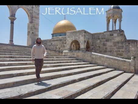 Teacher Joshua James, Temple Mount Jerusalem