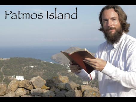 Patmos island, revelation, teacher joshua james