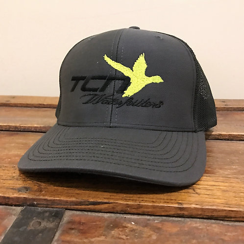 Chartreuse/Black Logo Hat