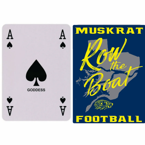 Algonac Football Row The Boat Playing Cards