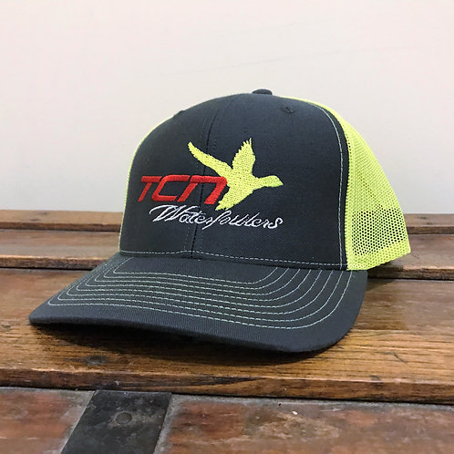 Chartreuse/Grey Logo Hat