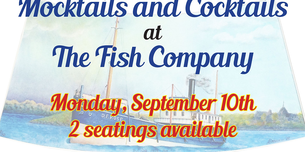 Mocktails & Cocktails at the Marine City Fish Company