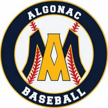 Algonac Baseball Window Sticker