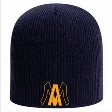 Algonac Baseball beanie skull cap Embroidered logo