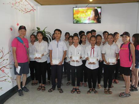 July 15, 2019 - Scholarship Award in Khe Khe, Le Thuy, Quang Binh