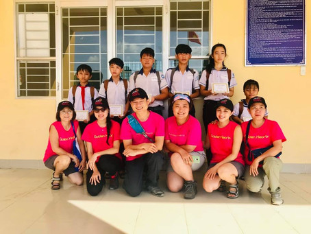 July 19+20, 2019: Scholarship Award& Distribute gifts  in Long An, Kiên Giang