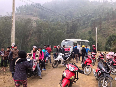 March 1, 2017 - Nam Bat School Bao Yen, Lao Cai