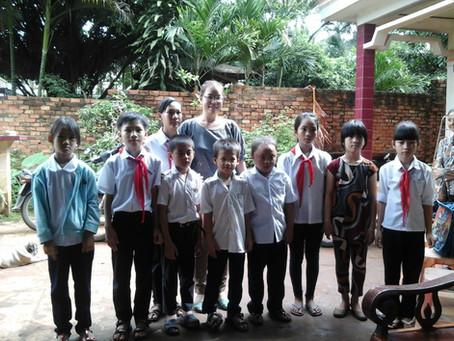 June 30, 2014 - Scholarship Award in Binh Phuoc