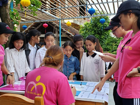 July 17, 2019:  Scholarship Award in Phong Nha, Quang Bình