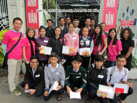 Feb 11, 2015   Scholarship Award in Da Nang