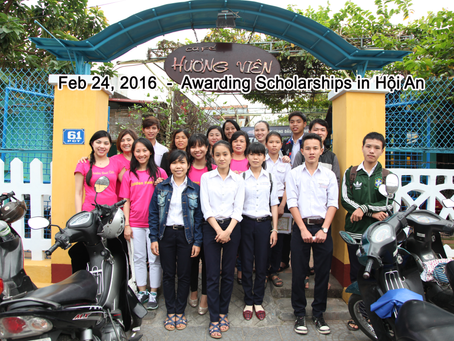 Feb 24, 2016 - Scholarship Award in Đà Nẳng,