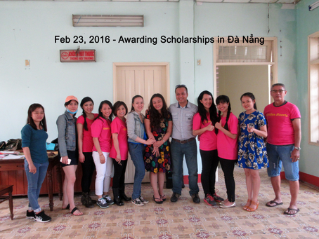 Feb 23, 2016 - Scholarship Award in Đà Nẳng,