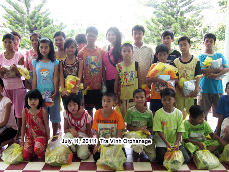 July 12, 2011 - Tra Vinh Orphanage