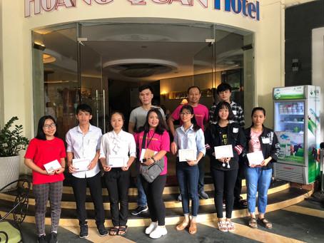 Sep 3, 2018     Scholarship Award in Quang Binh
