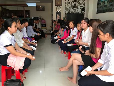 Dec 24th, 2017 - Scholarship Award in Tay Ninh, Sai Gon, Xuan Bac