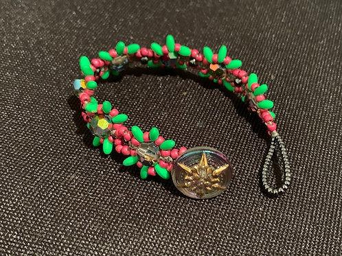 Beaded Watermelon Bracelet