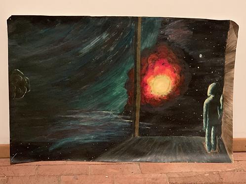 Galaxy Observer (PRINT)