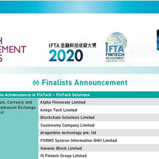 BitBro enlisted as one of the finalists in the IFTA Award 2020