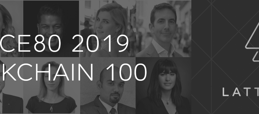 """LATTICE80 listed our Founder & CEO Jase Leung as one of the """"LATTICE80 2019 Blockchain 100 Leade"""