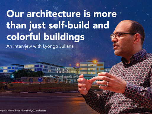 Our architecture is more than just self-build and colorful buildings