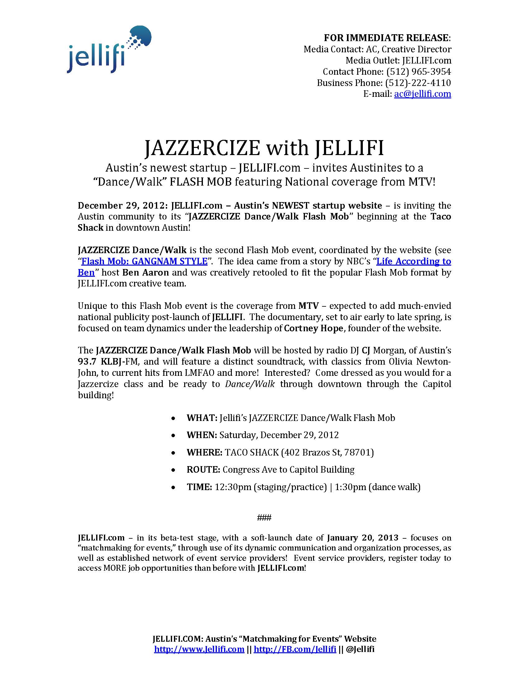 PRESS RELEASE_Jellifi_JAZZERCIZE Dance W