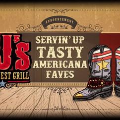 New Logo, CJ's Grill