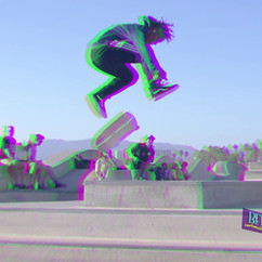 Skate Park Facebook Horizontal Promo