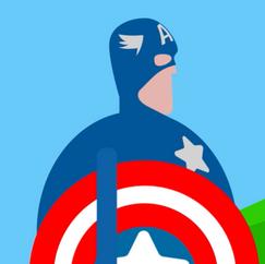Captain America Delivers