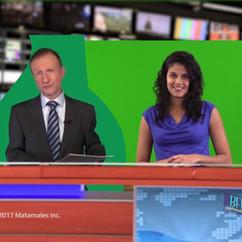 News Green Screen Sample