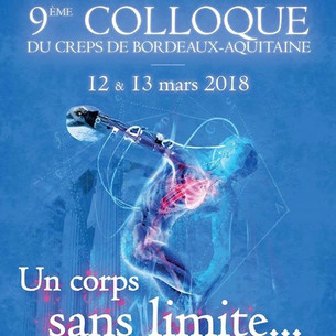 9ème colloque du CREPS de Bordeaux