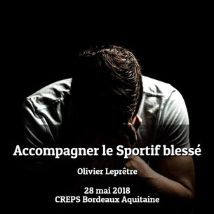 FORMATION : SPORTIF BLESSE