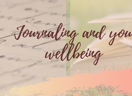 Journaling and your wellbeing