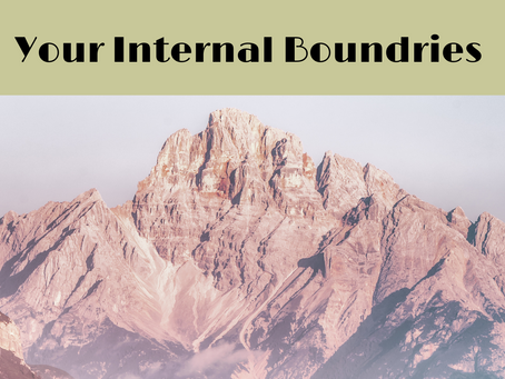 Knowing your internal boundries