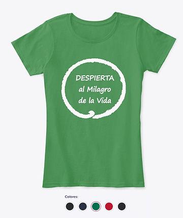 Camiseta mindfulness y meditacion mujer.