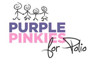 'Purple Pinkie' - project for polio!