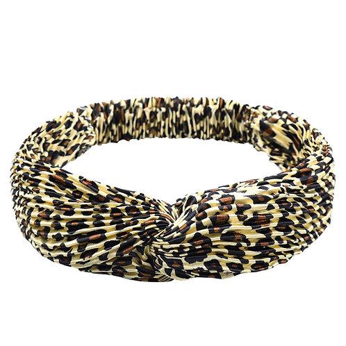Haarband Shine Leopard
