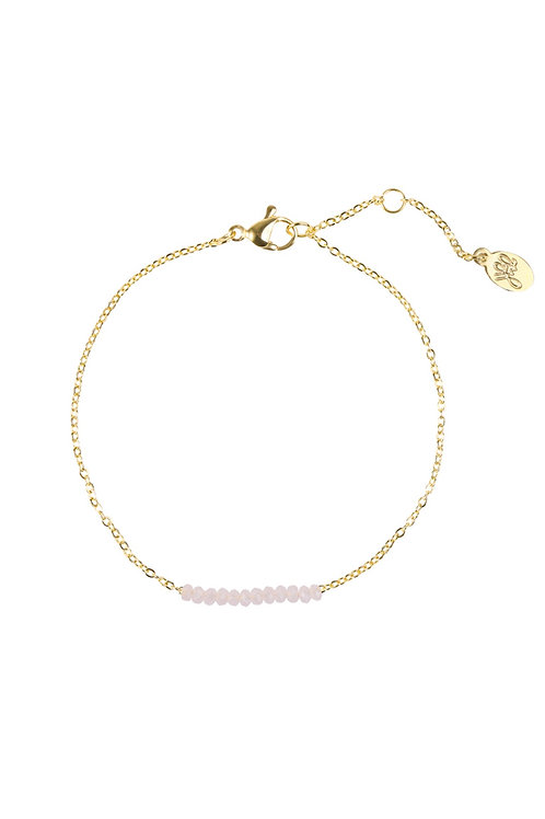 Armband Beads Row Goud
