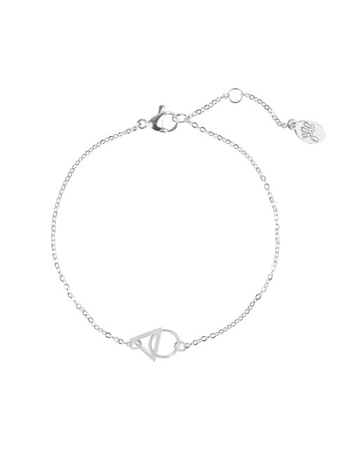 Armband Triangle Zilver