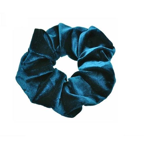Scrunchie Blauw Velvet