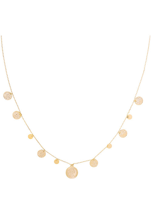 Ketting Royal Coins & Rounds Goud