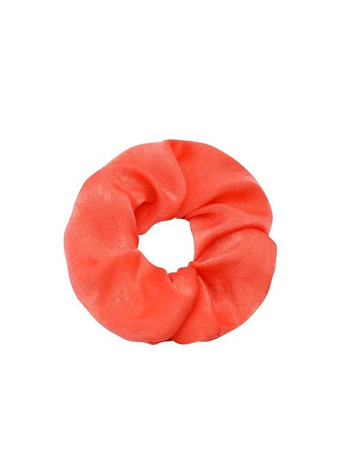 Scrunchie Satijn Oranje