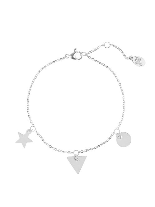 Armband Figures Family Zilver
