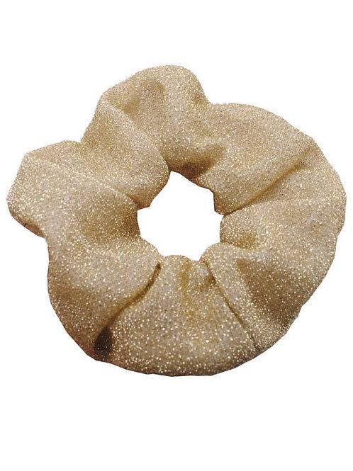 Scrunchie Geel Glitter